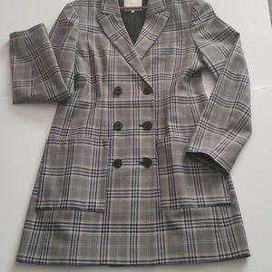 Tibi double breasted jacket dress